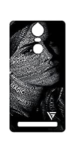 Vogueshell Typography Printed Symmetry PRO Series Hard Back Case for Lenovo K5 Note