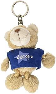 NICI n15879-Llavero Oso con Camiseta Jacopo, Azul