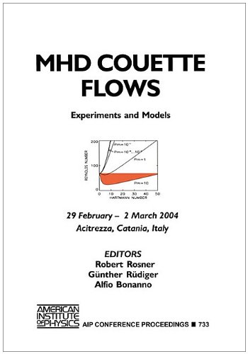 MHD Couette Flows: Experiments and Models (AIP Conference Proceedings / Astronomy and Astrophysics, Band 733)