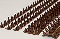 Fence Wall Spikes: Pack of 40 (18.0M to 54.0M) – BROWN
