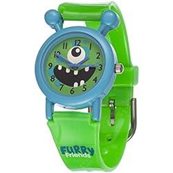 Furry Friends Blue Ditzy Watch - Kids Boys Girls Fun Watches Animal