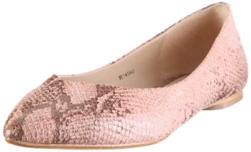 ESPRIT Collection ANDREA SNAKE BALLERINA R14540, Damen, Ballerinas, Rosa (rose 690), EU 39