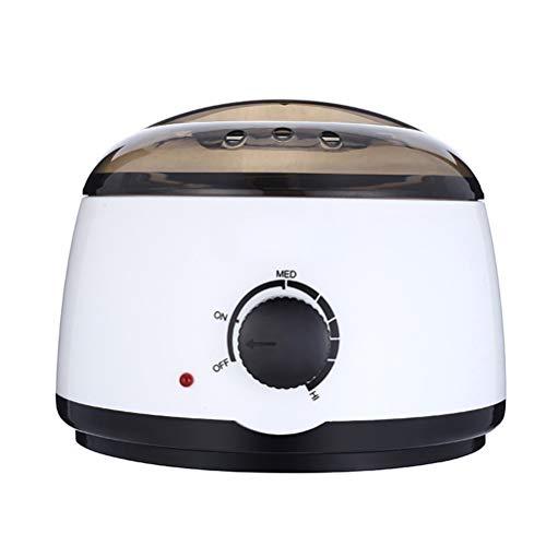 Mini calentador de múltiples funciones de la cera, cacerola de aluminio desmontable 500cc, termóstato...