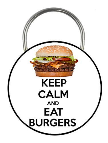 keep-calm-and-eat-burgers-printed-double-sided-key-ring-45mm-keyring-button-novelty-gift