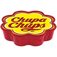 Chupa Chups Margarita, Confezione Speciale, Box Regalo con 60 Mini Lollipop Gusti Assortiti Frutta e Cola, Idea Regalo…
