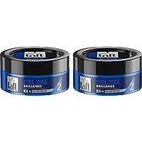 Taft - Cire Coiffante - Cire Wax Brillance - Cire 75 ml - Lot de 2