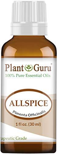 Plant Guru Huile essentielle de piment de la Jamaïque. (Feuilles de piment) 30 ml par  Plant Guru