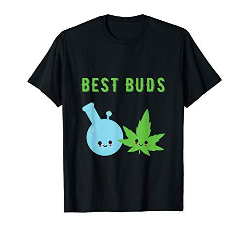 Kawaii Marihuana Leaf und Bong Best Buds