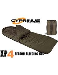 CyprinusTM Explorer XP4 Season Carp - Saco de Dormir para Pesca