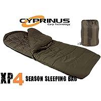 Rig Guide RRP £105 Cyprinus™ Deepsnooze 5 Season Carp Fishing Sleeping Bag