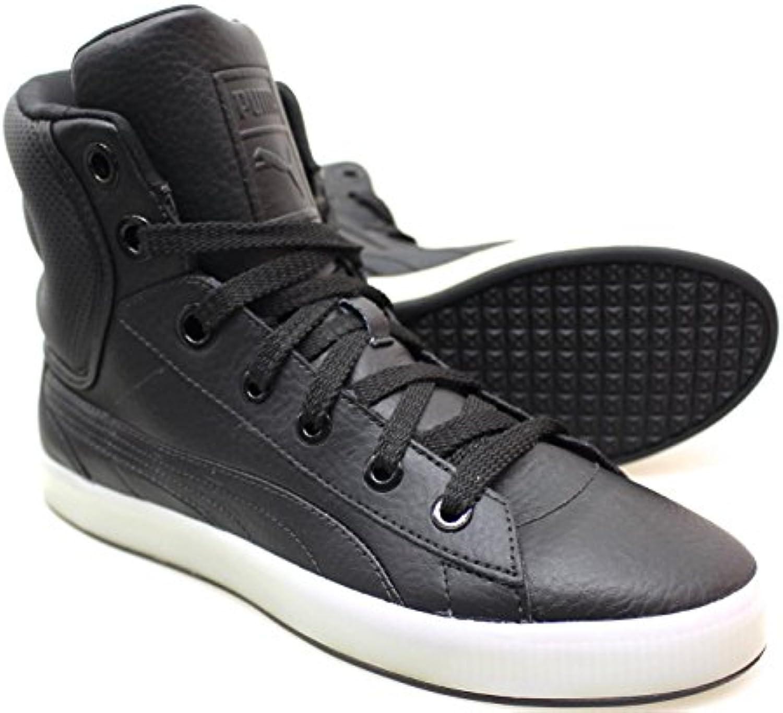 Puma 2nd round noir .Reacutef. 352554 04 B  Herren Sneaker  Schwarz schwarz