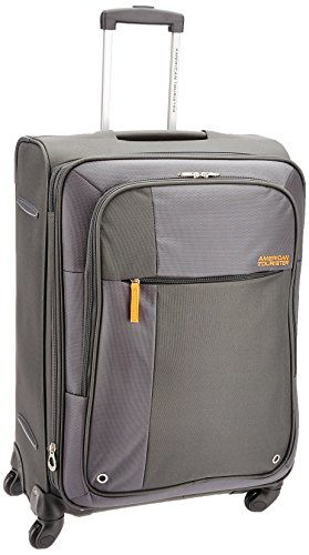 American Tourister Hugo Polyester 66cms Grey Softsided Suitcase (53W (0) 08 002)