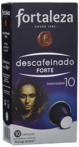 Café Fortaleza, Cápsulas de café (Descafeinado Forte) - 5 de 10 Cá