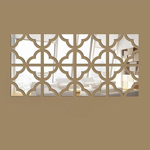 kingkor-20pcs-acrylic-mirror-wall-stickers-removable-diy-decal-home-vinyl-mural-decor-silver