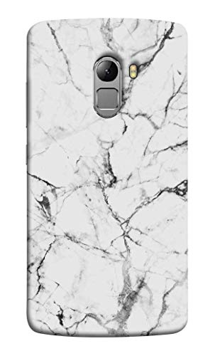 Oye Stuff Marble Printed Designer Case, Slim and Light Weight Back Cover for Lenovo K4 Note