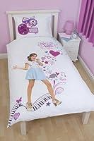 Violetta Disney Copripiumino singolo Novità 2014 - 100% merchandise ufficiale - Reversibile - Misure: 135x200 - Federa: 50x75 - 50% Cotone 50% Poliestere - Per tutte le V-Lovers