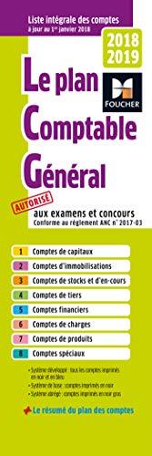 Plan comptable général 2018-2019 par Foucher