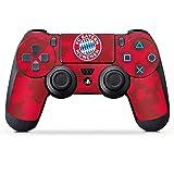 DeinDesign Sony Playstation 4 Controller Folie Skin Sticker aus Vinyl-Folie Aufkleber FC Bayern München Camouflage FCB