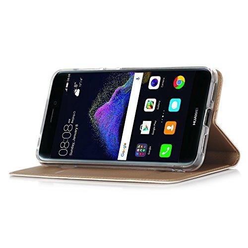 Huawei P8 Lite 2017 Cover - IVSO Slim Flip Cover