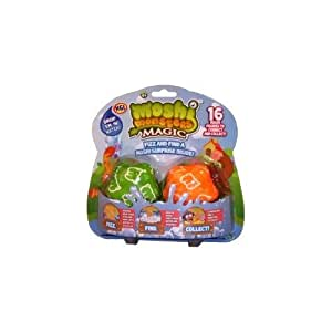 Moshi Monsters Magic – Fizz Star Two Pack – Set 2 Figurines Moshi Mystères (Import Royaume-Uni)