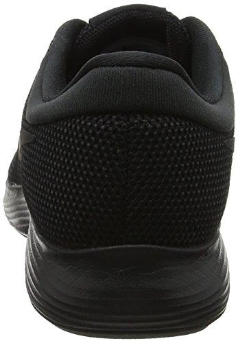 Nike Revolution 4, Chaussures de Running Homme Noir (Black/Black 002)