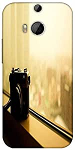 Snoogg Vintage Style Photography Designer Protective Back Case Cover For HTC M8