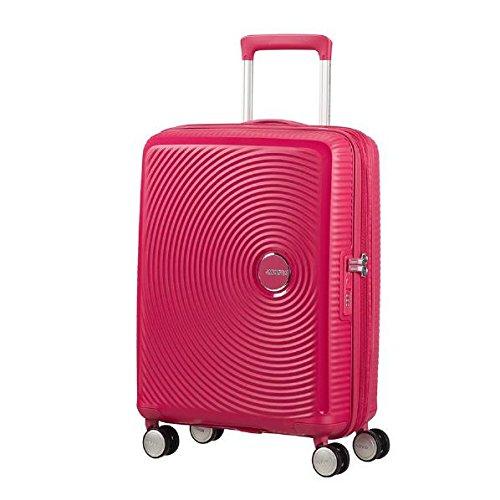 American Tourister - Soundbox Spinner Extensible, 77cm, 97/110 L - 4.2 KG, Rose (Lightning Pink)