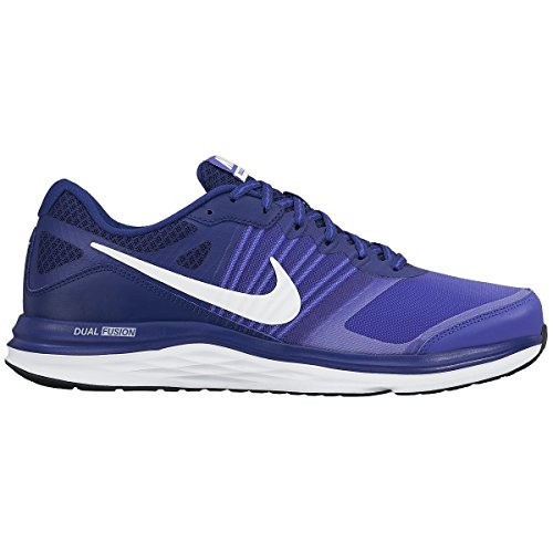 Nike - Dual Fusion X Blanc-Bleu-Violet