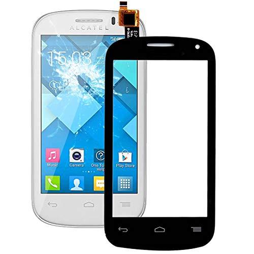 ERSATZTEILEFORHANDYS Ersatzteile for Handy Touch Panel für Alcatel One Touch POP C3 / OT-4033 / 4033D / 4033X (Schwarz) (Farbe : Black)