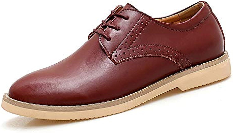 Xiaojuan-scarpe, Scarpe da Uomo Trend Casual Oxford Business Business Trend Uomo da Uomo semplici Scarpe Stringate Coloreee... b9df57