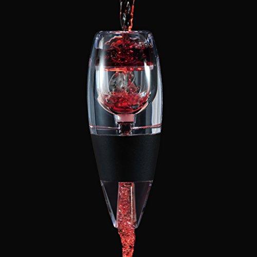 Decanter aeratore del vino decantatore con base per vino rosso regalo di natale (wine aerator)