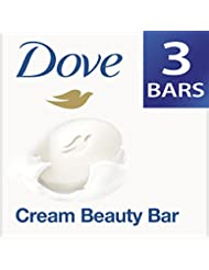 Dove Cream Beauty Bathing Bar, 75g (Pack of 3) with Free 50g