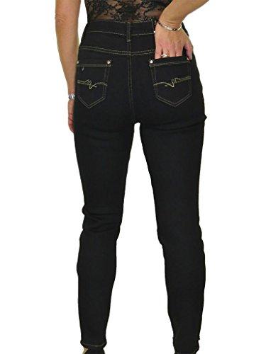 ICE Jeans Denim, con vita alta, Lunghezza 75 cm 44-54 Nero
