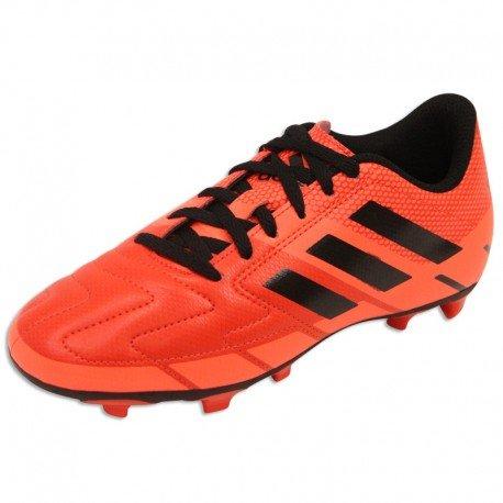 NEORIDE III FG JR RGE - Chaussures Football Garçon Adidas Rouge