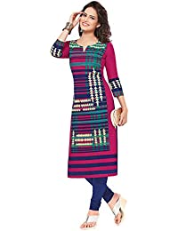 Ishin Cambric Cotton Pink Printed Party Wear Wedding Wear Casual Daily Wear Office Wear Festive Wear New Collection...