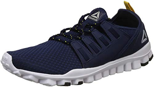 Reebok Men's Identity Flex Xtreme Lp Coll Navy/Primal Yellow Running Shoes - 11 UK/India (45.5 EU)(12 US)(CN8154)