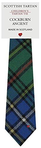 I Luv Ltd Garçon Tout Cravate en Laine Tissé et Fabriqué en Ecosse à Cockburn Ancient Tartan