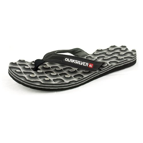 Quiksilver , Chaussures de piscine et plage pour homme Gris - gris