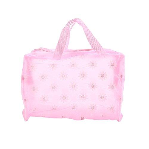 Aolvo Cubitos de embalaje impermeables para cosméticos gruesos, bolsa