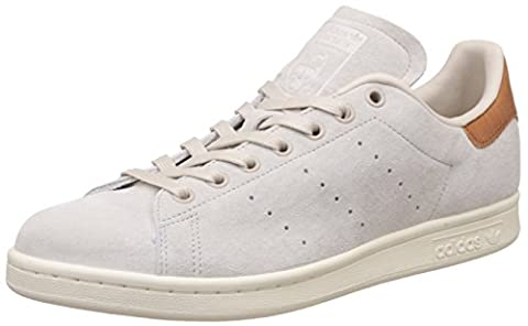 adidas Unisex-Erwachsene Stan Smith Basketballschuhe, Beige (Clear Brown/Clear Brown/Off White), 41 1/3 EU