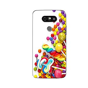 RICKYY _G5_1102 Printed Matte designer colorful chocolates case for LG G5