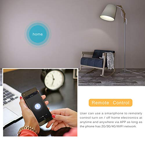 Switches - Ac110 240v Home Automation Work With Alexa Wifi Smart Switch Wireless Remote Control Light Timer - Replacement Control Momentary Smart Dual Metal Best Wall Touchscreen Sensor Rem