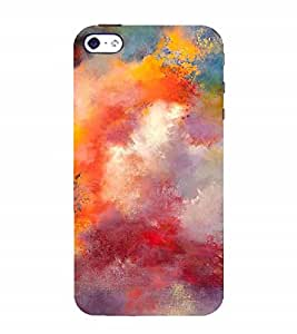 Nextgen Designer Mobile Skin for Apple iPhone 4 (painting colours art Beautiful colourfull paint)