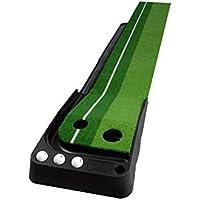 Jia He Tapetes de Golf Práctica de Golf Indoor Put Putter Practice Outdoor 2 Size Opcional @ (Tamaño : 2.5m)