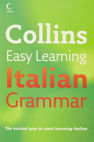 Collins Easy Learning – Collins Easy Learning Italian Grammar (Collins Easy Learning Dictionaries)