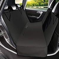 Qimh Accessori Cane Auto,Coprisedili per Cani Auto Universale Fit Impermeabile Antiscivolo e Lavabile in Lavatrice Pet Amaca Per Auto, SUV