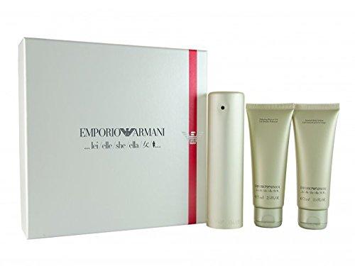 Emporio Armani she / lei / elle 50 ml Eau de Parfum + 75ml Bodylotion + 75ml Showergel