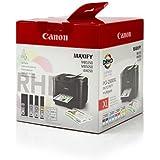 Original Tinte passend für Canon Maxify iB 4150 Canon 9254B004 - 4x Premium Drucker-Patrone - Schwarz, Cyan, Magenta, Gelb - 1x 70,9 & 3x 19,3ml ml