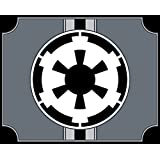 magFlags Drapeau Large Galactic Empire SWG | Galactic Empire Star Wars | drapeau paysage | 1.35qm