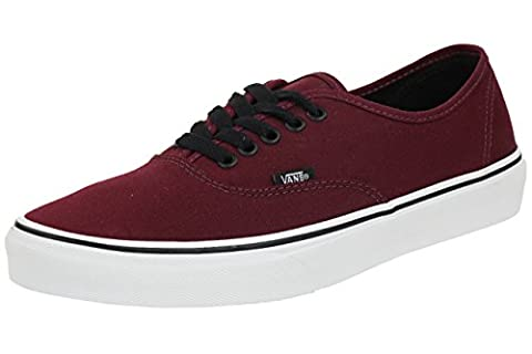 VANS Authentic Classic Sneaker skate canvas Skaterschuhe , pointure:eur 49;Farben:bordeaux